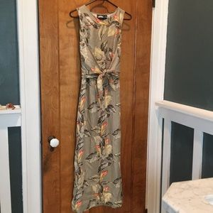 TOMMY BAHAMA FULL LENGTH SILK DRESS